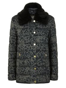 Windsmoor Animal Print Short Raincoat