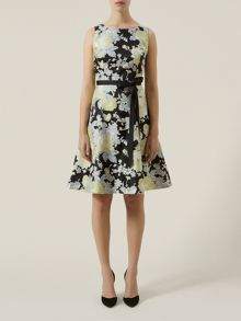 Kaliko Floral Burnout Prom Dress