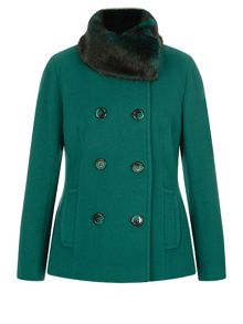 Precis Petite Short Wool Coat