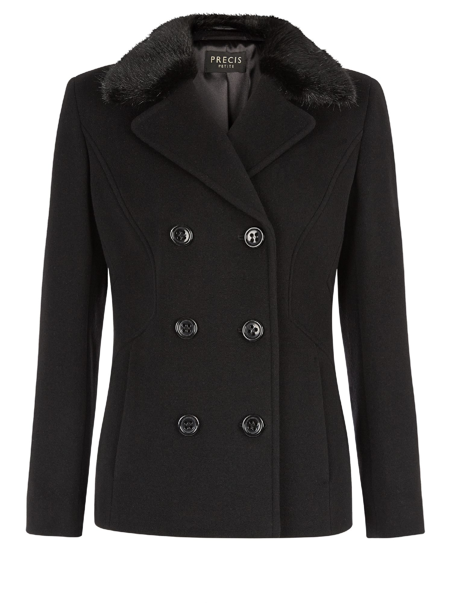 Classic Wool Peacoat: An American icon is back and better than ever in our plush wool blend!Classic double-breasted styling with back-tab detail for a touch of shape and a flattering longer length. Front welt pockets (sewn closed like all finely tailored garments).