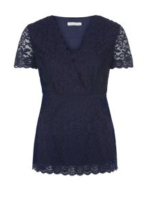Galoon lace top