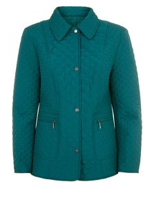 Precis Petite Short Quilted Coat