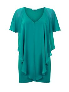 Windsmoor Green Floaty Top