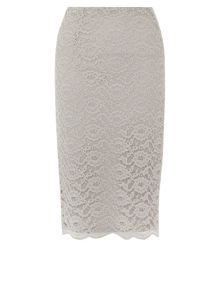 Kaliko Lace Pencil Skirt