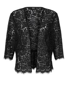 Planet Black Lace Jacket