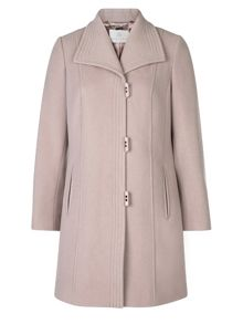 Jacques Vert Short Stitch Detail Coat