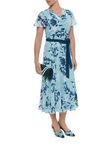 Fit And Flare New Floral Dress