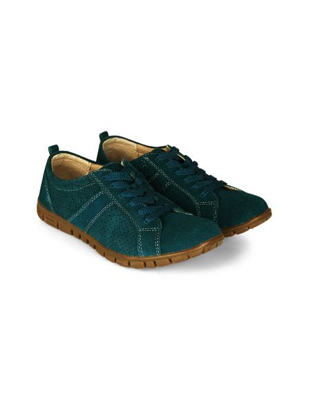 Dash Lace Up Suede Trainer