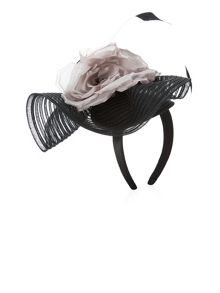 Ruffle Flower Headpiece