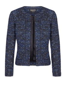 Precis Petite Blue Tweed Jacket