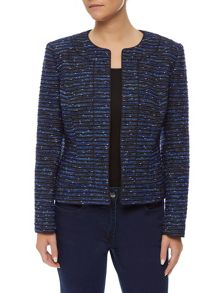 Blue Tweed Jacket