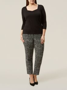 Windsmoor Mono Print Trousers