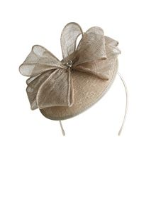 Lace Disc Bow Fascinator
