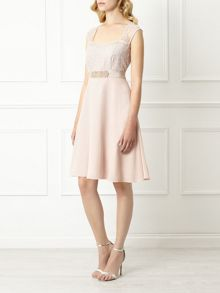 Lace And Chiffon Prom Dress