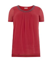 Windsmoor Poppy Chiffon Top