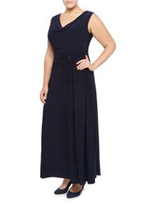 Windsmoor Navy Maxi Dress