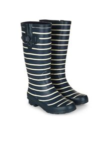 Dash Long Striped Welly