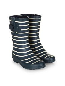 Dash Mid Striped Welly