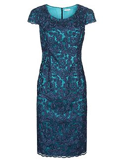 Jacques Vert Petite Corded Lace Dress