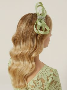 Lime Loop Fascinator