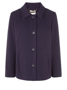 Purple Short Coat
