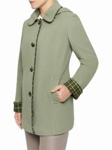 Eastex Cedar Check Hooded Coat