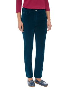 Dash Long Velveteen Trouser