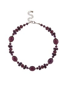 Crystal Facet Necklace