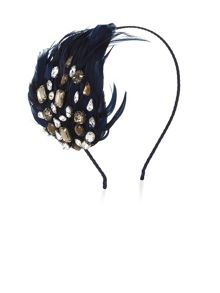 Jewel And Feather Fascinator