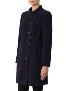 Funnel Mid Wool Coat
