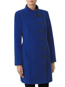 Windsmoor Cobalt Funnel Mid Wool Coat