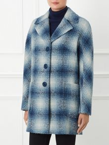By Paul Costello Soho Square Check Coat