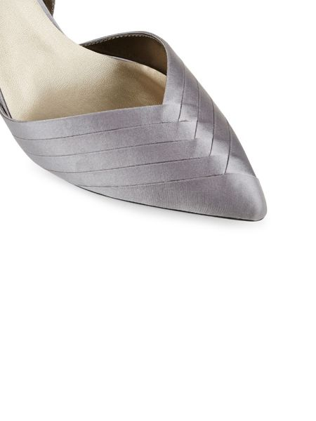 Jacques Vert Pleated Point Slingback Shoe