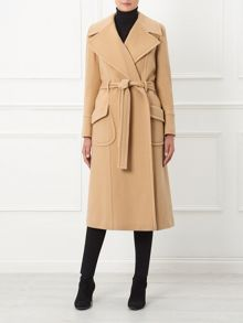 By Paul Costelloe Windsor Camel Belted Coat