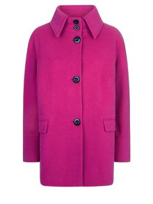 Windsmoor Fuchsia Short Wool Coat
