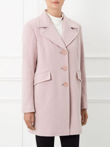Windsmoor By Paul Costelloe Marleybone Sorbet Pink Coat