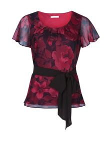 Jacques Vert Cationic Rose Top