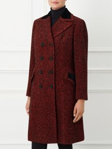 By Paul Costelloe Cambridge Red Tweed Coat