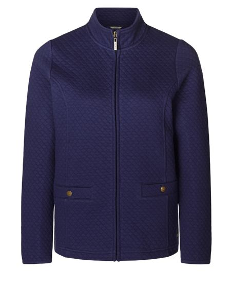 Dash Quilted Jersey Jacket