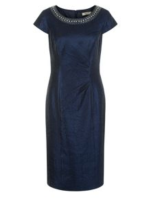 Occasion Wear Navy Dress