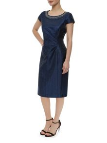 Precis Petite Occasion Wear Navy Dress