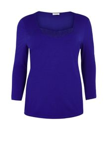 Cobalt Jersey Top