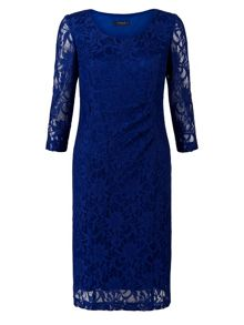 Imperial Blue Lace Dress
