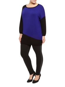 Cobalt Block Knit Sweater