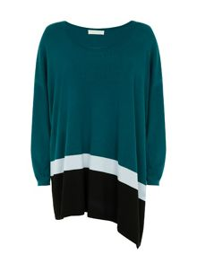 Ombre Effect Knit Sweater