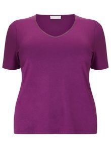 Fuschia Jersey Top