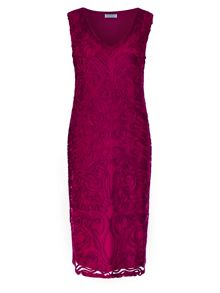 Windsmoor Raspberry Cornelli Dress