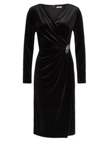 Jacques Vert Velvet Cocktail Dress