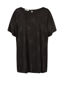 Windsmoor Black Sparkle Jersey Top