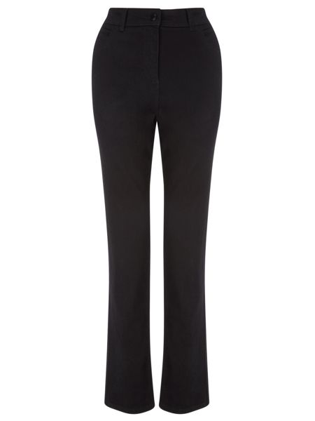 Dash Black Jean Straight Long